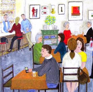 Detail Image for art Cafe (Sold)