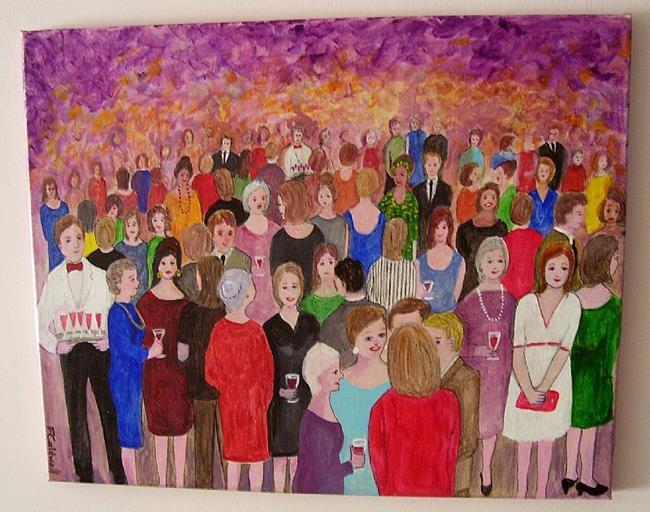 Art: Reunion (Sold) by Artist Fran Caldwell