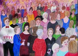 Detail Image for art Reunion (Sold)