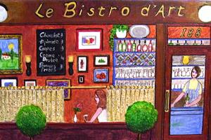 Detail Image for art Le Bistro d'Art