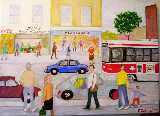 Art: Queen Car (SOLD) by Artist Fran Caldwell