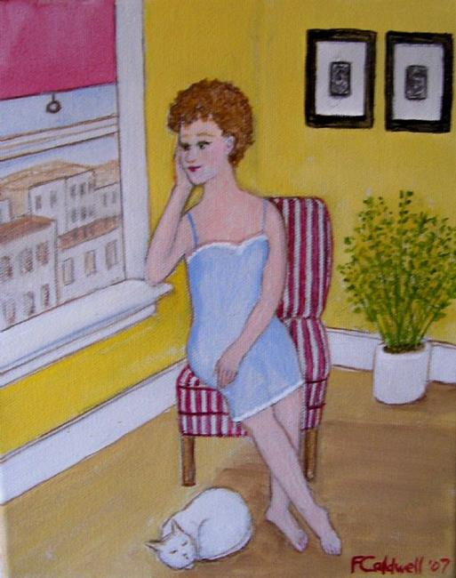 Art: Sunday Morning (Not for Sale) by Artist Fran Caldwell
