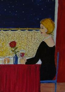 Detail Image for art The Empty Chair (SOLD)