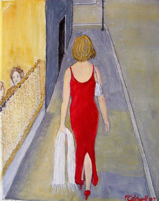 Art: Independent (SOLD) by Artist Fran Caldwell