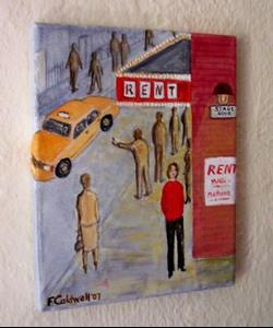 Detail Image for art Stage Door (Not for Sale)
