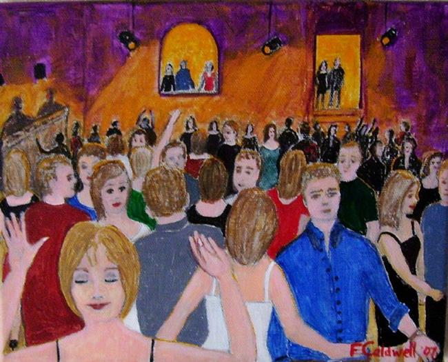 Art: The Club (Not for Sale) by Artist Fran Caldwell