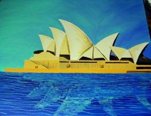 Detail Image for art Opera House #1 $200.00