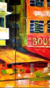 Detail Image for art South Beach Strip - Diptych