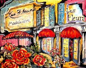 Detail Image for art Paris Flower Market