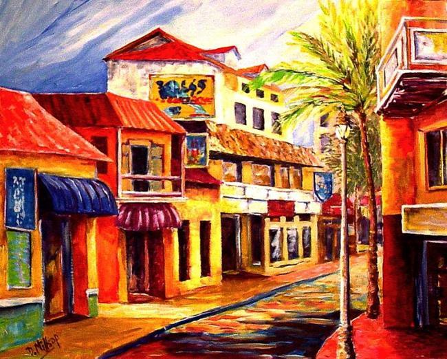 Art: Island Town by Artist Diane Millsap