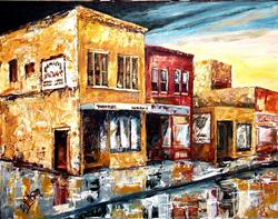 Art: The Old Neighborhood by Artist Diane Millsap