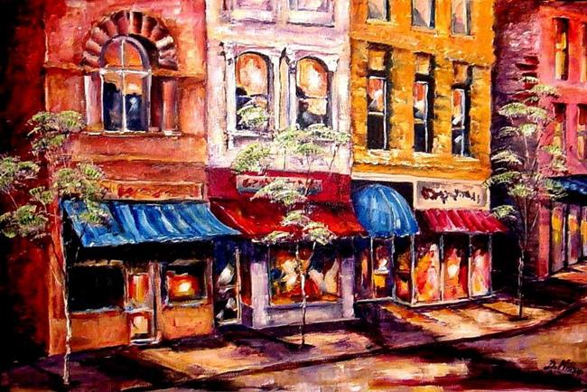 Art: City Lights by Artist Diane Millsap