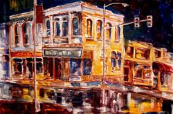Art: Rainy Night by Artist Diane Millsap