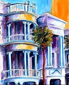 Detail Image for art Charleston Sunset