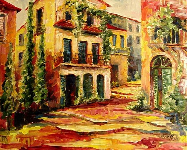 italian village streets sold by diane millsap from