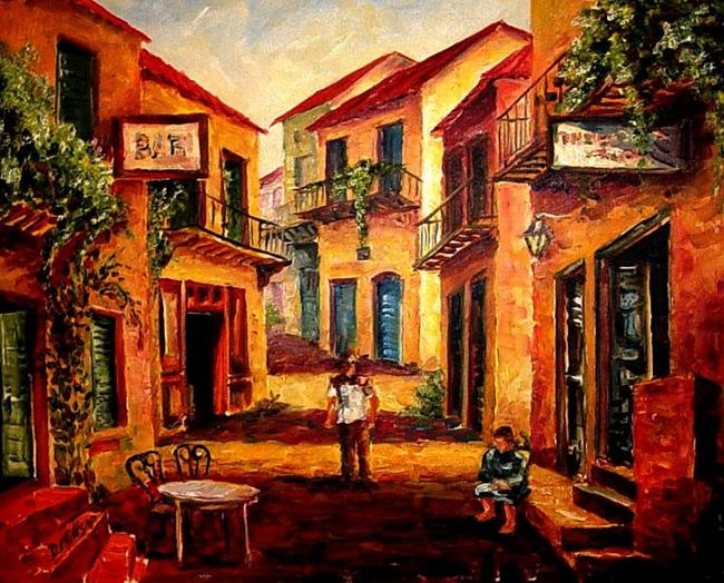 Art: Hot Afternoon -SOLD by Artist Diane Millsap
