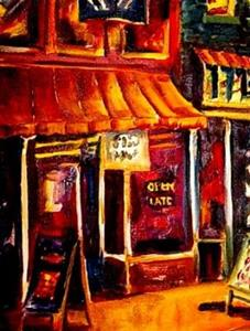 Detail Image for art Beale Street Blues - SOLD
