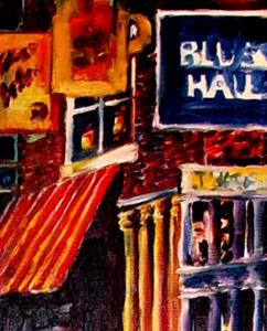 Detail Image for art Home of the Blues - SOLD
