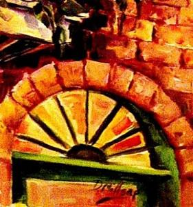 Detail Image for art French Quarter Street Light - SOLD