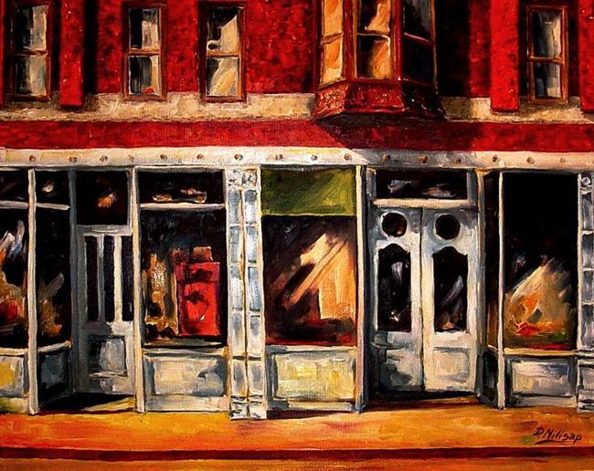 Art: Small Town by Artist Diane Millsap