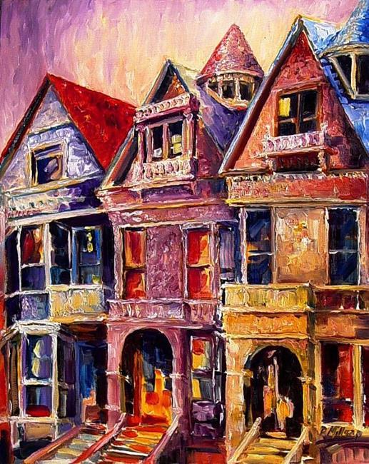 Art: San Francisco Dawn by Artist Diane Millsap