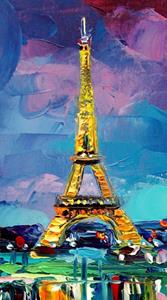 Detail Image for art Parisian Night