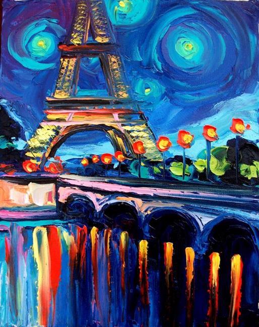 Art: Seine by Artist Aja
