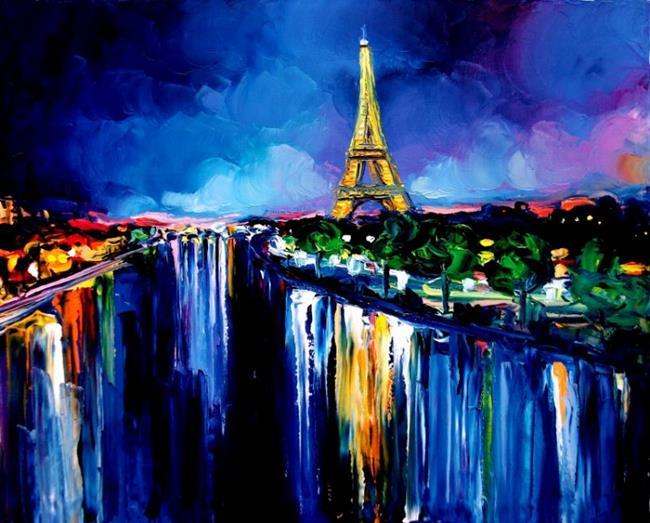 Art: Eiffel by Artist Aja