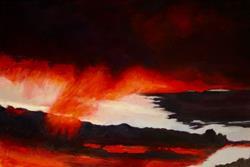 Art: Clouds IV by Artist Virginia Ann Zuelsdorf