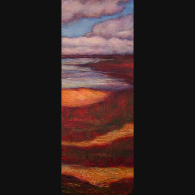 Art: Cloudscape I (sold) by Artist Virginia Ann Zuelsdorf