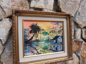 Detail Image for art Florida Swamp House