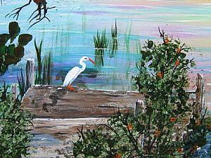 Detail Image for art IBIS ISLAND -Sold