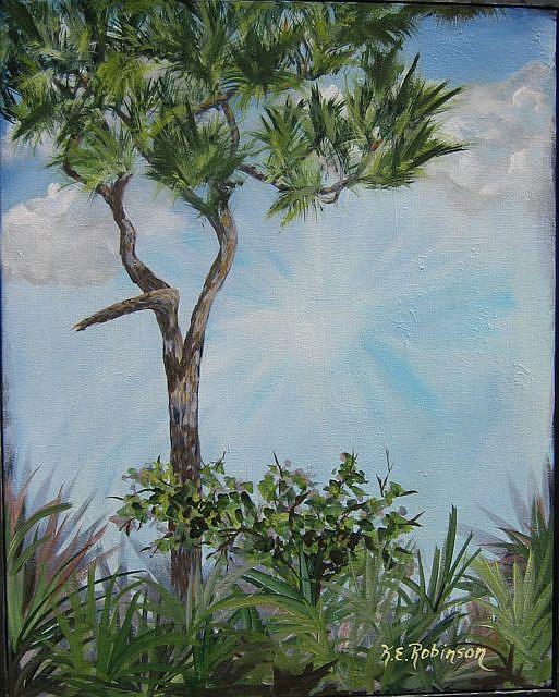 Art: Old Florida -sold by Artist Ke Robinson