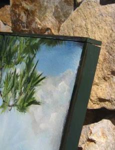 Detail Image for art Old Florida -sold