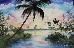 Art: Florida #0141 - SOLD by Artist Ke Robinson