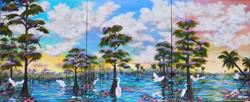 Art: Paradise in Threes by Artist Ke Robinson