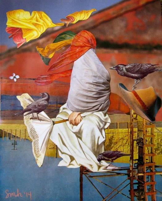 Art: perch by Artist Shawn Marie Hardy