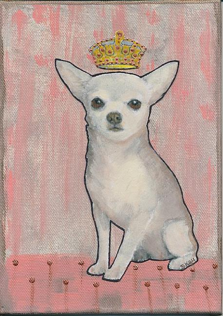 Art: Queen For A Day - Sold by Artist Sherry Key