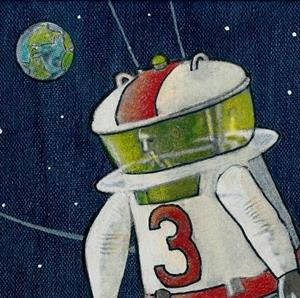Detail Image for art 1962 Testing A Moonsuit