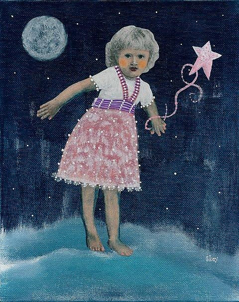 Art: Catch A Falling Star by Artist Sherry Key