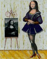 Art: She's Got Legs-Sold by Artist Sherry Key