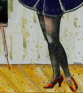 Detail Image for art She's Got Legs-Sold