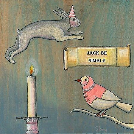 Art: Jack Be Nimble - Sold by Artist Sherry Key