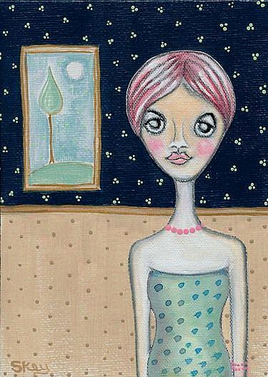 Art: Retro Sophisticate by Artist Sherry Key