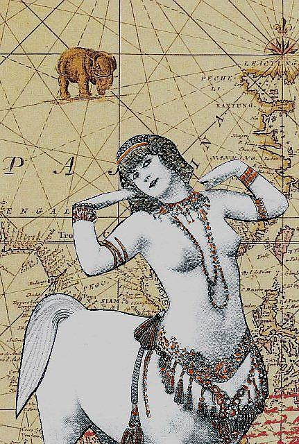 Art: Miss Gothic Centaur 1750 B.C. - Sold by Artist Sherry Key