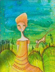 Art: Summer Days Drifting Away by Artist Sherry Key