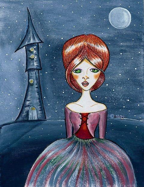 Art: Cinderella Was A Redheaded Stepchild by Artist Sherry Key