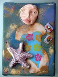Art: Seashore Treasures by Artist Deborah Sprague