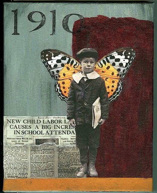 Art: 1910 by Artist Dawn Williams