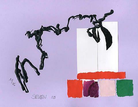 Art: SEVEN 03 by Artist Gabriele Maurus